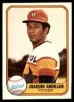 1981 Fleer #63  Joaquin Andujar  Front Thumbnail