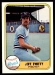 1981 Fleer #49  Jeff Twitty  Front Thumbnail