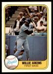 1981 Fleer #43  Willie Aikens  Front Thumbnail