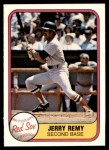 1981 Fleer #238  Jerry Remy  Front Thumbnail