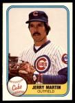 1981 Fleer #295  Jerry Martin  Front Thumbnail
