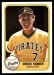 1981 Fleer #367  Chuck Tanner  Front Thumbnail