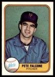 1981 Fleer #327  Pete Falcone  Front Thumbnail