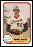 1981 Fleer #261  Tommy Boggs  Front Thumbnail
