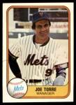 1981 Fleer #325  Joe Torre  Front Thumbnail
