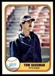 1981 Fleer #333  Tom Hausman  Front Thumbnail