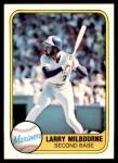1981 Fleer #611  Larry Milbourne  Front Thumbnail