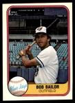 1981 Fleer #409  Bob Bailor  Front Thumbnail