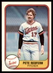 1981 Fleer #560  Pete Redfern  Front Thumbnail
