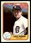 1981 Fleer #467  Lance Parrish  Front Thumbnail