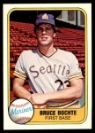 1981 Fleer #600  Bruce Bochte  Front Thumbnail