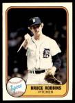 1981 Fleer #477  Bruce Robbins  Front Thumbnail