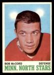 1970 O-Pee-Chee #41  Bob McCord  Front Thumbnail