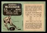 1970 O-Pee-Chee #6  John McKenzie  Back Thumbnail