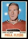 1970 O-Pee-Chee #81  Larry Hillman  Front Thumbnail