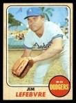 1968 Topps #457  Jim LeFebvre  Front Thumbnail