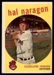 1959 Topps #376  Hal Naragon  Front Thumbnail