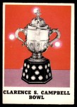1970 O-Pee-Chee #263   Clarence S. Campbell Bowl Front Thumbnail