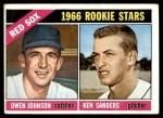 1966 Topps #356   -  Ken Sanders / Owen Johnson Red Sox Rookies Front Thumbnail