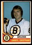1974 O-Pee-Chee NHL #313  Darryl Edestrand  Front Thumbnail