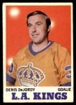 1970 O-Pee-Chee #31  Denis DeJordy  Front Thumbnail