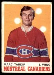 1970 O-Pee-Chee #179  Marc Tardif  Front Thumbnail