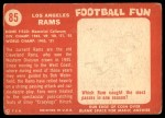 1958 Topps #85   Rams Team Back Thumbnail