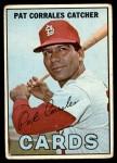 1967 Topps #78  Pat Corrales  Front Thumbnail
