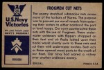 1954 Bowman U.S. Navy Victories #35   Frogmen Cut Nets Back Thumbnail