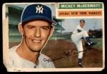1956 Topps #340  Mickey McDermott  Front Thumbnail