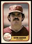 1981 Fleer #24 KEV Kevin Saucier  Front Thumbnail