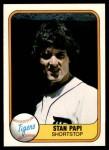 1981 Fleer #480 SHR Stan Papi  Front Thumbnail