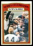 1972 O-Pee-Chee #230  Manny Sanguillen / Luke Walker / Gene Clines 1971 World Series Summary - Celebration Front Thumbnail