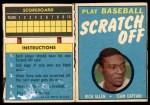 1971 Topps Scratch-Offs  Rich Allen  Front Thumbnail