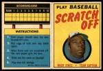 1970 Topps Scratch-Offs  Mack Jones     Front Thumbnail