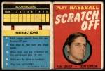 1970 Topps Scratch-Offs  Tom Seaver  Front Thumbnail
