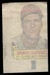 1966 Topps Rub Offs   Sam McDowell   Back Thumbnail