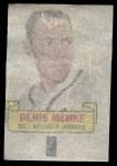1966 Topps Rub Offs   Denis Menke   Back Thumbnail