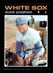 1971 Topps #56  Duane Josephson  Front Thumbnail