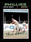 1971 Topps #511  Chris Short  Front Thumbnail