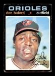 1971 Topps #29  Don Buford  Front Thumbnail