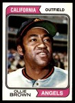 1974 Topps #625  Ollie Brown  Front Thumbnail