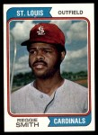 1974 Topps #285  Reggie Smith  Front Thumbnail