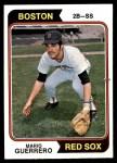 1974 Topps #192  Mario Guerrero  Front Thumbnail