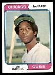 1974 Topps #157  Vic Harris  Front Thumbnail
