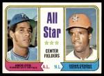 1974 Topps #337   -  Amos Otis / Cesar Cedeno All-Star Center Fielders   Front Thumbnail