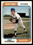 1974 Topps #356  Jerry Koosman  Front Thumbnail