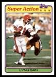 1981 Topps #73   -  Lynn Cain Super Action Front Thumbnail
