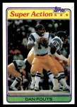1981 Topps #153   -  Dan Fouts Super Action Front Thumbnail