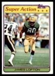 1981 Topps #361  James Lofton  Front Thumbnail